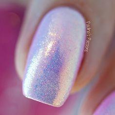 Mermaid Nails - Indigo Nails Mermaid Effect Powder (Video Tutorial)