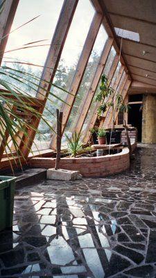 Beautiful earthship house