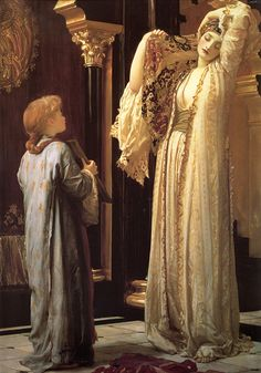 Lord Frederick Leighton (1830-1896)  Light of the Harem  Oil on canvas, c.1880  60 x 32 7/8inches (152.4 x 83.8 cm)  Private collection