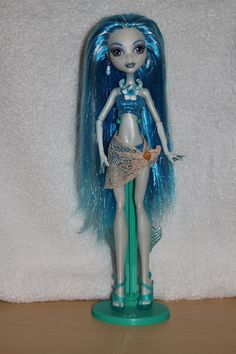 Coffin Coast Lilani custom ooak Monster High by mythicalmommy1717