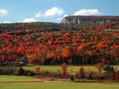 Shawangunk Ridge in New Paltz, NY by johncudw2399, via Flickr