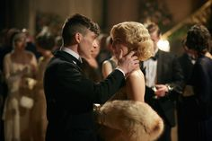 Peaky Blinders, season episode aired 12 May Thomas Shelby is played by Cillian Murphy and Grace Shelby is played by Annabelle Wallis. Peaky Blinders Grace, Peaky Blinders Season, Peaky Blinders Series, Peaky Blinders Quotes, Peaky Blinders Thomas, Cillian Murphy Peaky Blinders, Series Movies, Tv Series, Peaky Blinders Tommy Shelby