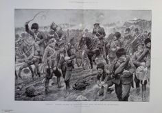 1904 PRINT RUSSIANS RETIRING TO FENG HWANG CHENG AFTER BATTLE OF KIU LIEN CHENG