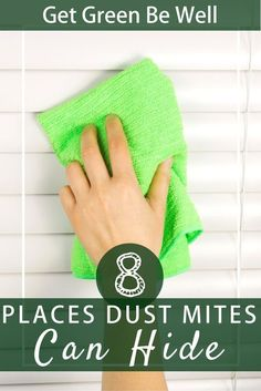 8 Surprising Places That Dust Mites Can Hide in Your Home and Cause Allergies. Are you guilty of ignoring these common places where dust mites love to thrive? Click through to uncover their secret hiding places. Natural Cleaning Recipes, Natural Cleaning Products, Dust Mite Allergy, Secret Hiding Places, Natural Disinfectant, Asthma Relief, Allergy Remedies, Green Living Tips, Allergy Relief