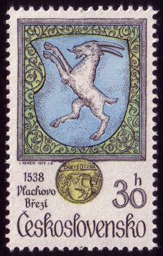 Goat Stamp. Josef Hercik, 1979.