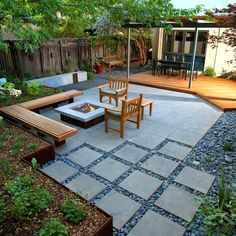 Image result for mid century modern landscaping