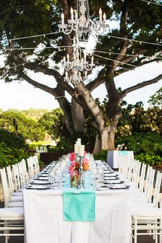 Check out these #outdoor #chandeliers ...obsessed! {MeewMeew Studios}