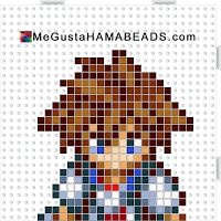 PlantillasHamaBeads Kingdom Hearts Parte 1