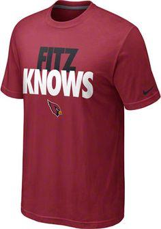 Larry Fitzgerald Arizona Cardinals Red Nike