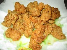 My Mississippi Boy's Deep Fried Chicken Gizzards Recipe Fried Gizzards, Gizzards Recipe, Chicken Gizzards, Chicken Heart And Gizzard Recipe, Soul Food Kitchen, Appalachian Recipes, Fried Vegetables, Appetizer Recipes, Appetizers