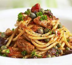 Spaghetti with sardines recipe - Recipes - BBC Good Food