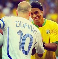 Ronaldinho and Zidane  Legends