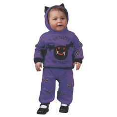 Baby Hooded Bat Costume