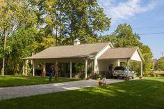 Superb Metal Building Home w/ Carport & Porch (HQ Pictures) | Metal Building Homes