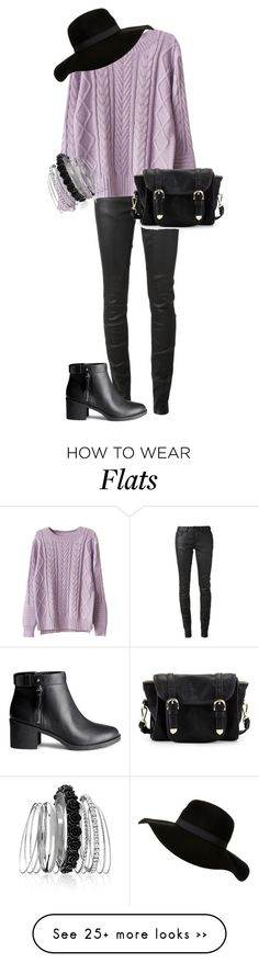 """""""Autumn outfits """" by ekaterinaaks on Polyvore featuring Rick Owens, H&M, Poverty Flats and Avenue"""