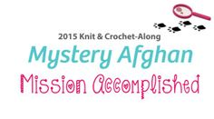 Mystery Afghan - Mission Accomplished