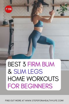 Everyone wants a slim & toned legs these days and not just to look good.A strong set of glutes can stave off injuries, improve exercise, and help you move well as you age.Skinny tights comes with THESE GREAT AT HOME WORKOUTS! toned legs workouts,workouts for butts,skinny tights at home, exercise butts,butts workout,toned butts motivation, firm legs workout for beginners