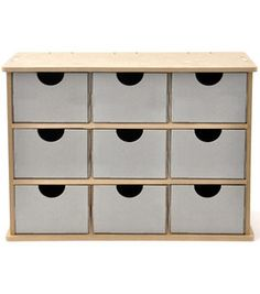 Possible IKEA Moppe replacement? Kaisercraft Beyond The Page MDF Storage Drawers : craft books : crafts : Shop | Joann.com