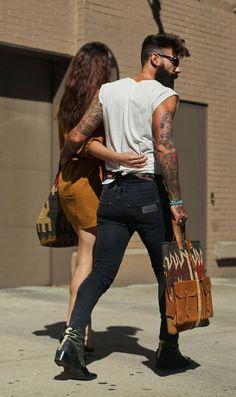 Style ♡   Beard lovers. Couple posts.