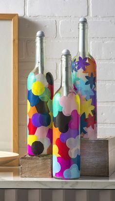 Thumb Reciclagem com Garrafas de Vodca-passo a passo FAÇA A SUA