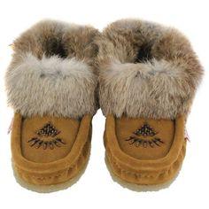 SoftMoc Women's CUTE 2 crepe sole rabbit fur moccasins cute 2 mca