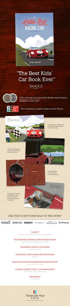 "The Little Red Racing Car: A Father/Son/Car Story. Called ""The Best Kids' Car Book Ever"" by Yahoo!™ Autos. A great way to introduce your little gearhead to the love of cars."