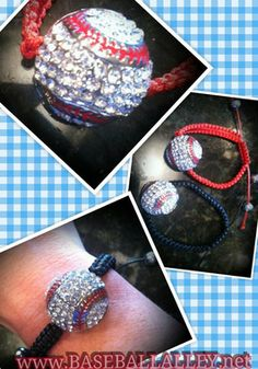 Baseball Rope Bracelet