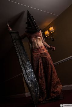 Pyramid Head - Silent Hill #Rule63 #Cosplay #Videogame - Magfest 2014