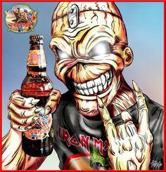 TROOPER BEER Iron Maiden EDDIE