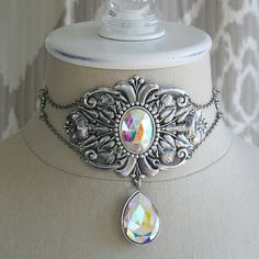 THE CRYSTAL GARDEN Victorian romantic by TheVictorianGarden, $64.00