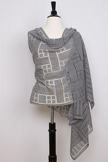 Ravelry: Hayden Rectangular Shawl pattern by Steve Rousseau Crochet Wrap Pattern, Lace Knitting Patterns, Crochet Shawl, Crochet Lace, Scarf Patterns, Knitting Tutorials, Knit Cowl, Crochet Granny, Hand Crochet