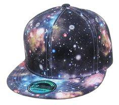 52b075e3 Grey Galaxy All Over Print Snapback Hat Cap Adjustable Universe Dark Space  Stars Galaxy Space,