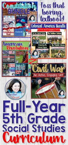 Fifth grade American history has never been more fun to teach! This Super Bundle contains five of my best-selling bundles! These units and activities are engaging and exciting for students. This Super Bundle contains MORE than I can get through in an enti Social Studies Projects, Social Studies Curriculum, 5th Grade Social Studies, Social Studies Activities, University Website, University High School, Education Reform, Kids Education, Educational Websites