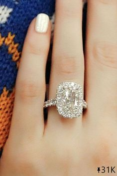27 White Gold Engagement Rings To Conquer Your Love ❤ White gold engagement rings in any style are good for a proposal. Look at the best rings in white gold in our gallery and inspire for popping the question. #ohsoperfectproposal #diamondrings #whitegoldrings #diamondengagementband #weddingrings #whitegoldengagementrings #whitegoldrings #halorings #bestrings #emeraldcutrings