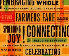 #farmers fare, spreading joy, celebrating, rediscovering social traditions... #farmersmarket