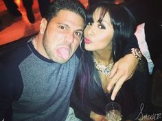 Nicole Snooki Polizzi and Jionni LaValle attend Superstars for Sandy Relief Snooki And Jwoww, Nicole Snooki, Wwe Superstars, Celebrity, Friends, Amigos, Celebs, Boyfriends, Famous People