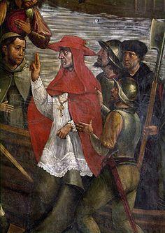 Cappellone o parasole (el Cardenal Cisneros en la conquista de Orán):