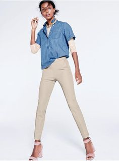 12 cute ideas to remember for fall including this layered look from J.Crew