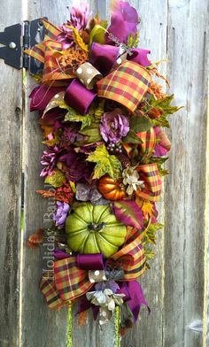 A personal favorite from my Etsy shop https://www.etsy.com/listing/455045248/fall-swag-fall-wreath-fall-decor