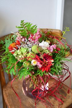 Květiny, kytice, vazba květin