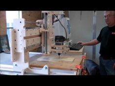 How to Build a CNC Router On A Shoestring Budget Part Two - YouTube