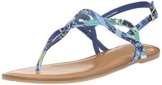 Fergalicious Women's Sunday Flat Sandal ** Check out this great product.
