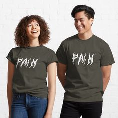 """""""Pain"""" T-shirt by SashaRusso 