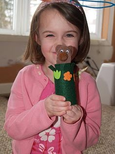 groundhog puppet  