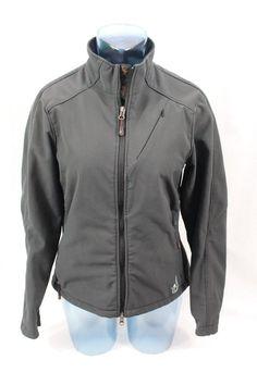 ISIS Softshell Women's Jacket Black Size 8 (MEDIUM) Fleece lined #ISIS #BasicJacket
