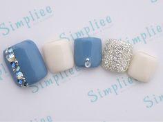 定額フット¥4990 Gel Toe Nails, Feet Nails, Toe Nail Art, Pedicure Designs, Pedicure Nail Art, Toe Nail Designs, Pretty Toe Nails, Cute Toe Nails, Stylish Nails