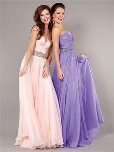 Sweetheart Gathered Beaded Waist Belt Floor Length Prom Dress PD11253 www.dresseshouse.co.uk $119.0000