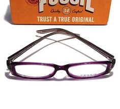 Fossil Brille Canary lila