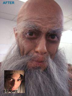 11 Best Stage Makeup Facial Hair images | Facial hair ... Old Man Fake Beard