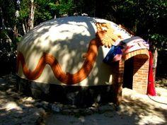 Temazcal Mexico Mayan Sweat Lodge